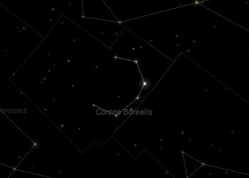 Constellation Corona Borealis Frosty Drew Observatory Sky Theatre