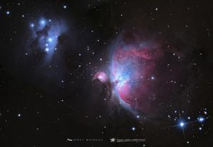 The Orion Nebula Rings in the Holiday