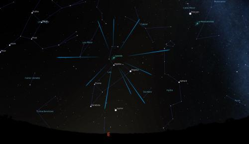 The Leonid Meteor Shower Finder