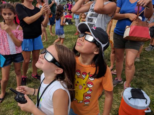 Eclipse Glasses can be used to observe the Sun, and get you out of the house every day.