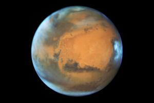 Mars Blazes Into Opposition