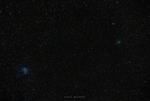 Photo: Comet 46P Approaches the Pleiades