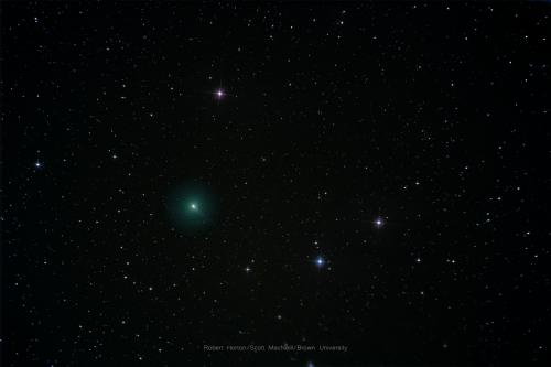 Comet C2019/Y4 Atlas captured by Robert Horton and processed by Scott MacNeill on March 21, 2020.