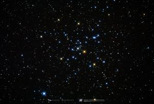 Photo: Messier 41 - An Open Star Cluster