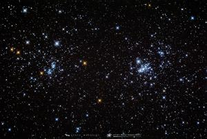 Photo: The Perseus Double Cluster