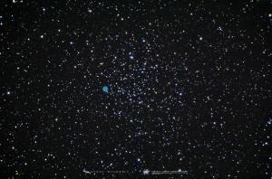 Photo: Messier 46 with Planetary Nebula NGC 2438
