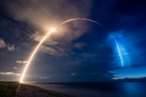 Starlink-8 Launch. Credit: SpaceX