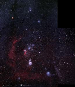 Photo: Orion Molecular Cloud Complex