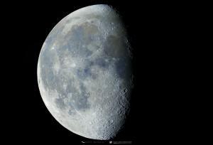 Photo: 78% Waning Gibbous Moon
