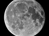 The Full Long Moon in 100 Megapixels